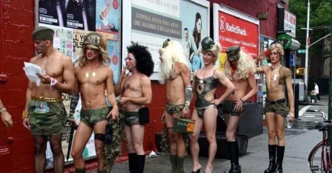 США: трансгендеры добились права служить вармии