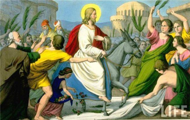 ВМариуполе отмечают Вербное воскресенье