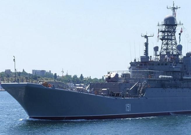 Большой десантный корабль Черноморского флота «Азов» прибыл вГрецию