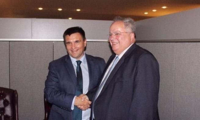 Руководителя МИД Украины иКитая обсудили размещение миротворцев наДонбассе