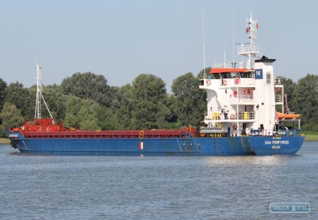 ВОдессе задержали иностранное судно зазаход вКрым