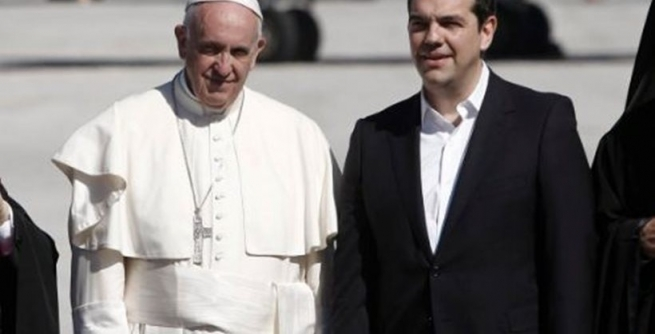 ВАпостольском замке Ватикана Папа Франциск встретился слидерами европейского союза