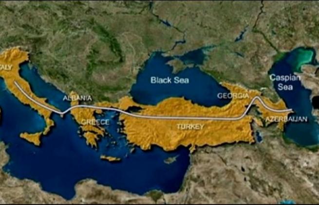 Открытие Трансанатолийского газопровода
