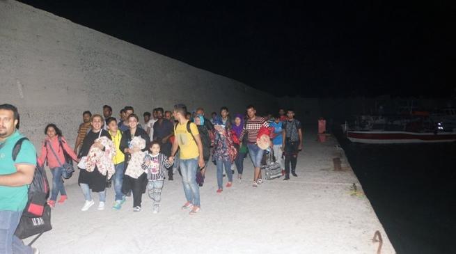 Число прибывающих вГрецию мигрантов резко возросло