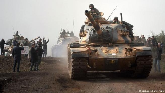 Впроцессе операции всирийском Африне погибли два военных Турции