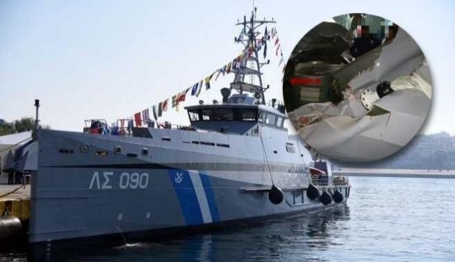 Турецкий катер протаранил греческое судно у острова Имиа