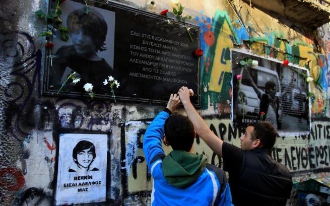 Милиция применила слезоточивый газ против протестующих вГреции