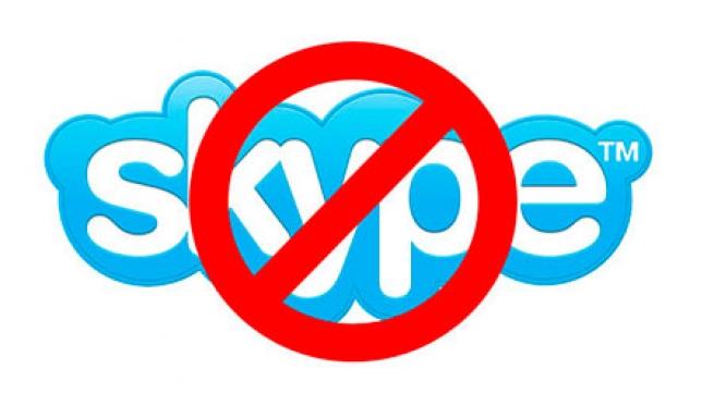 Большая часть Европы осталась без Skype