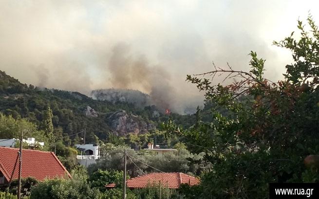 Вевропейских странах  пожарные сражаются  садским огнём  — Атака стихии