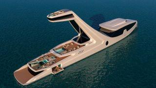 Самая роскошная яхта в мире: судно Shaddai с пентхаусом и обзорной палубой