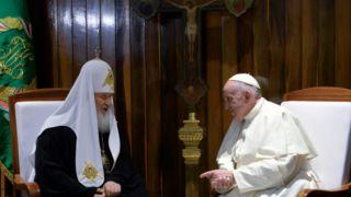 Историческая встреча глав Русской православной церкви и Ватикана